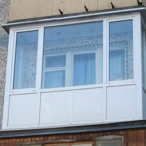 Картинка Балкон в хрущёвке Чебоксары